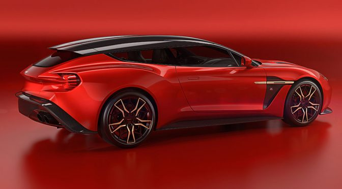 Aston Martin Zagato Vanquish Shooting Brake Completes Aston Martin's First Zagato Family