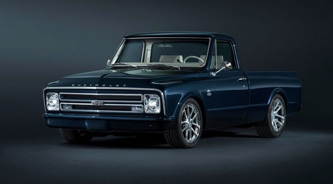 I Can't Stop Thinking About Chevy's Custom 1967 C-10 Pickup Truck