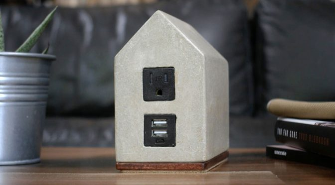 Custom Concrete and Marble Power Supply Kits by Hand & Craft