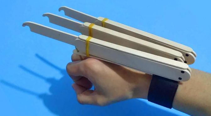 DIY Wolverine Claws Gives You Wolvie's Claws Without Breaking Your Skin