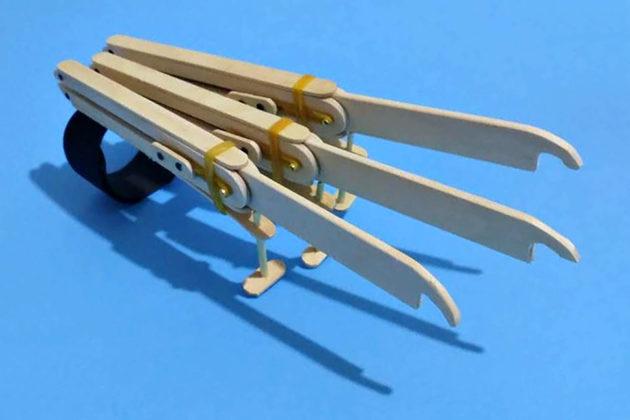 DIY Logan X-Men Wolverine Automatic Claws