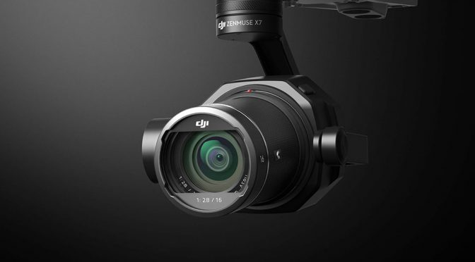DJI Introduces Cinematic Camera Zenmuse X7