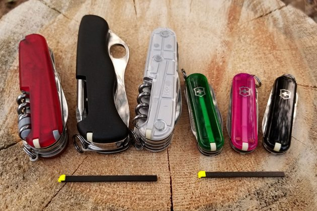 Firefly EDC Fire Starter for Swiss Army Knife