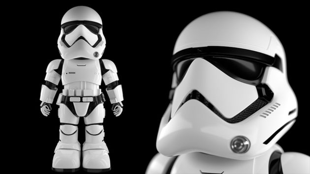 First Order Stormtrooper App-enabled Robot by UBTech