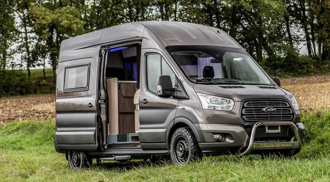new trigano transit based campers boasts bespoke mods by ford mikeshouts. Black Bedroom Furniture Sets. Home Design Ideas