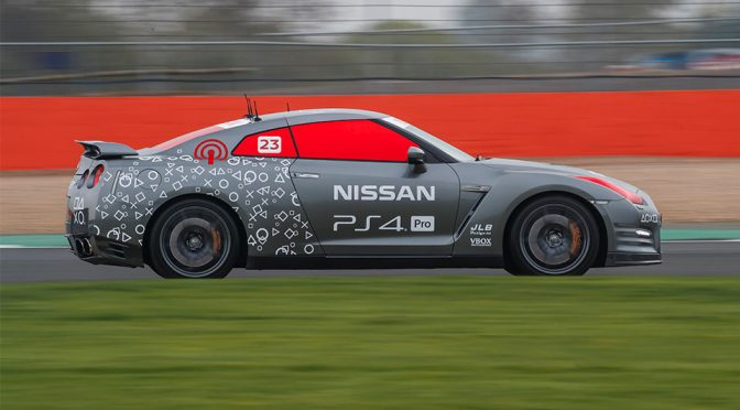 Fully Remote Control Nissan GT-R /C Makes 130 MPH