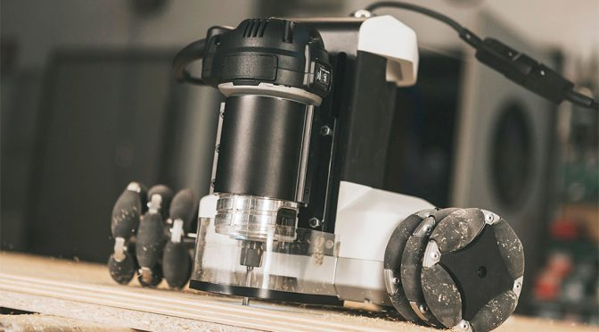 Startup Robotized CNC Machine, Made It Routs Autonomously