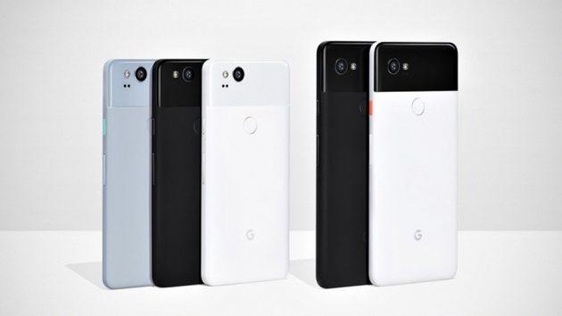 Google Pixel and Pixel 2 XL Smartphones