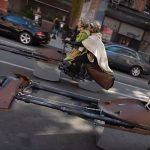 Watch Luke Skywalker And Princess Leia Cruises NYC On A Speeder Bike