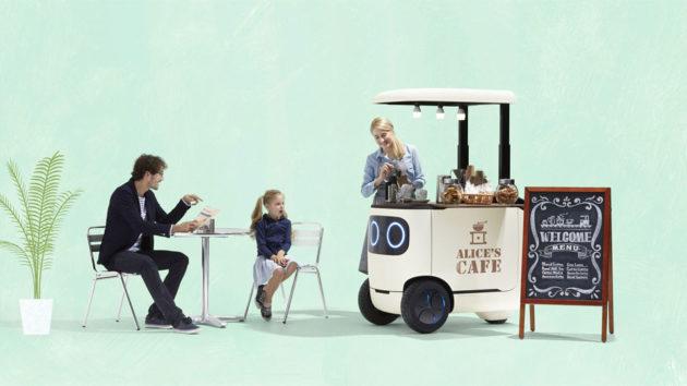 Honda RoboCas Concept Autonomous Vehicle