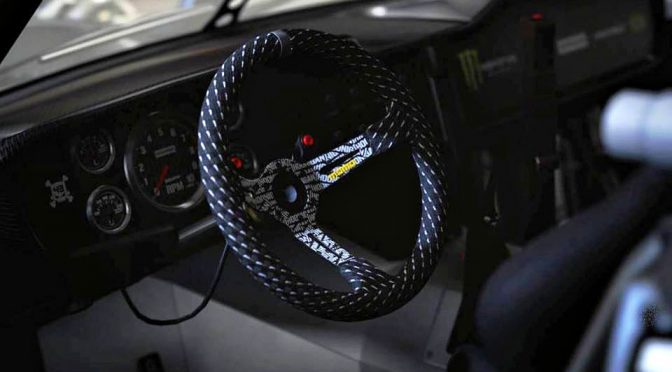 Hoonigan x MOMO Hoonicorn Steering Wheel