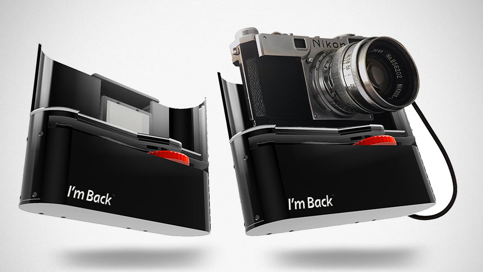 I'm Back Turns Old Analog Camera Into A Digital Camera