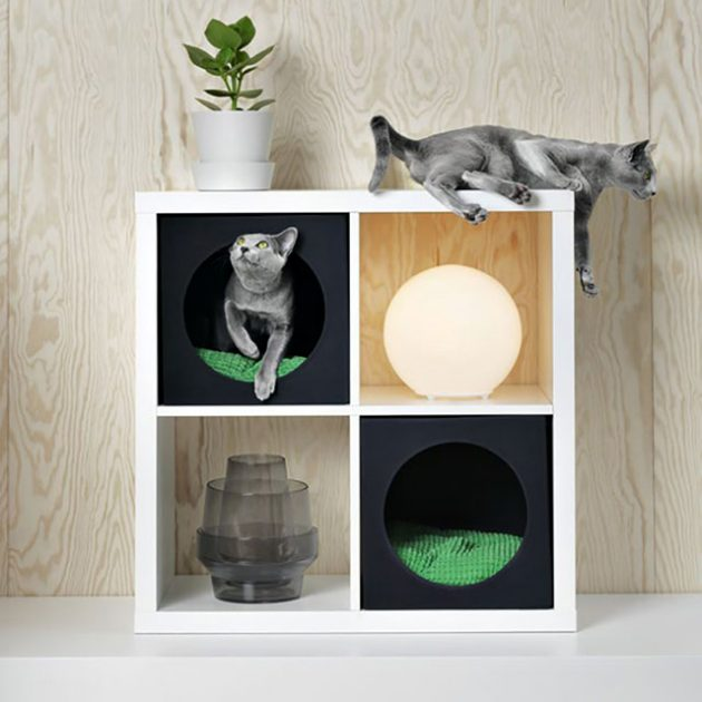 Ikea LURVIG Cat House