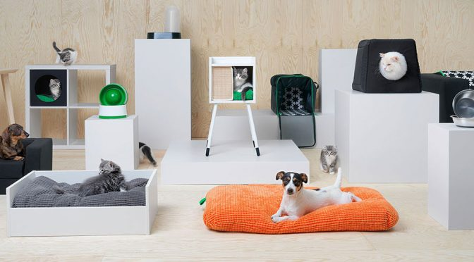 IKEA Introduces LURVIG, A Collection Of Furniture And Accessories For Pets