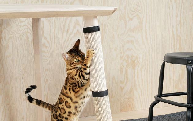 Ikea LURVIG Scratching Mat