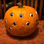 Randomly Moving Eyeballs Turn Jack O' Lantern Into A Creep O' Lantern