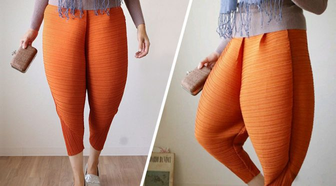 In Japan, They Have Ladies' Pants That Looks Like Fried Chicken Legs