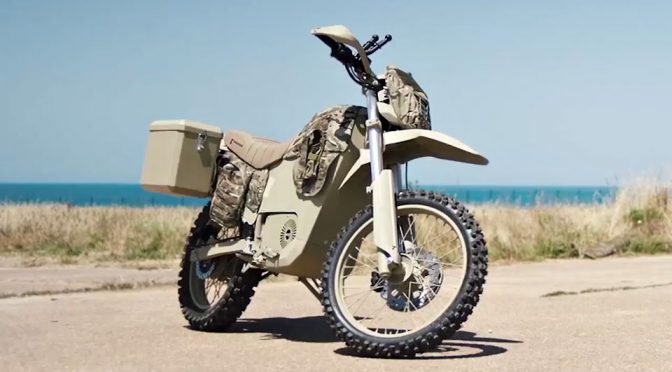Maker Of AK-47 Is Now Making Electric Bikes For Russian Military Too