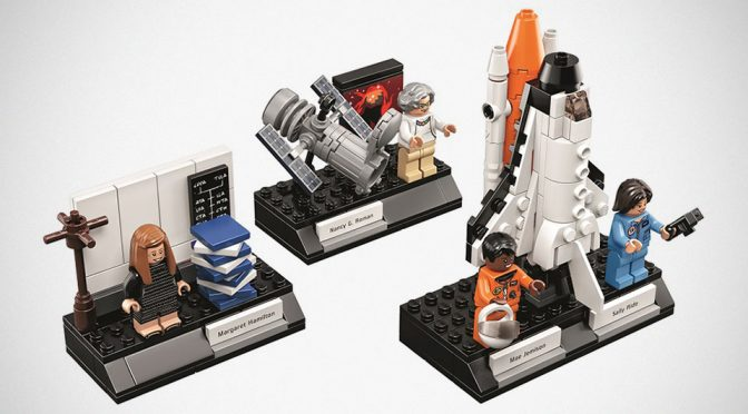 LEGO Announced Women Of NASA Set, Available Starting November 2017