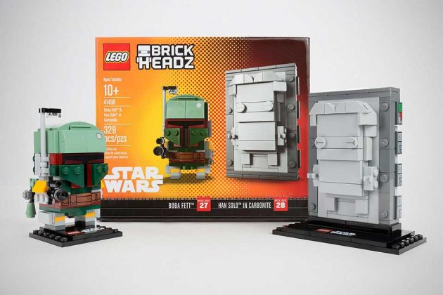 LEGO Star Wars BrickHeadz Boba Fett And Han Solo Set