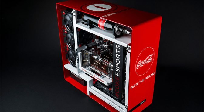 Maingear x Coke eSports 1ofONE Coca-Cola Gaming PC