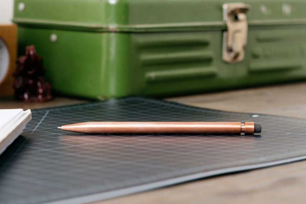 Minimal Mechanical Pencil 2.0 by Modern Fuel Design
