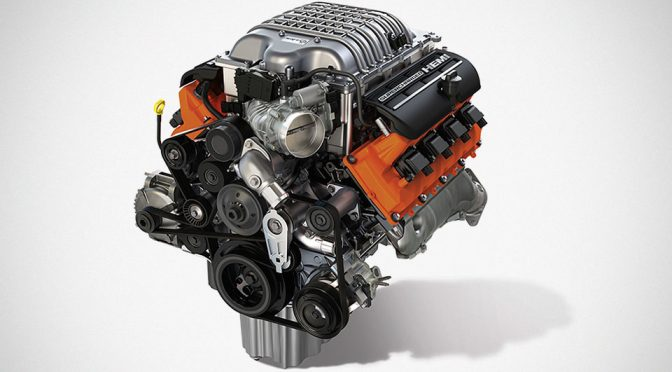 Mopar 6.2L Supercharged Crate HEMI Engine Kit