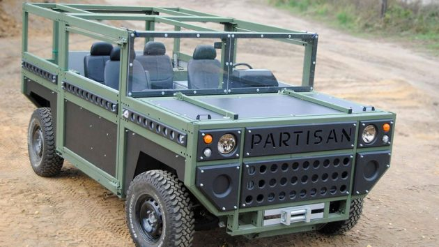 Partisan One Flatpack SUV for Military
