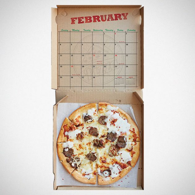 Pizza! 2018 Wall Calendar by Universe Publishing