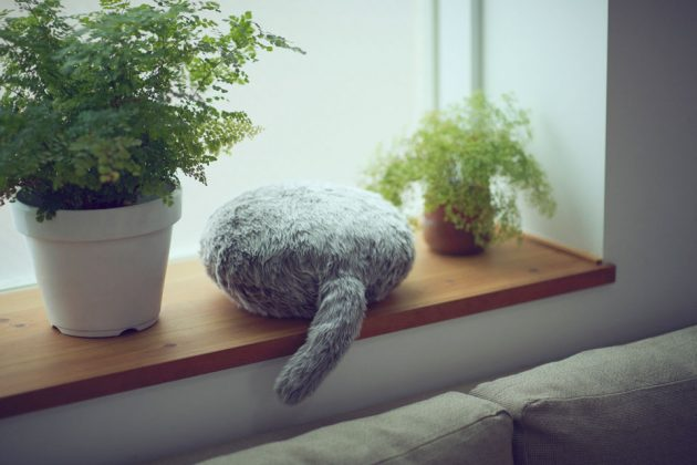 Qoobo Headless Robotic Cat by Yukai Engineering Inc.