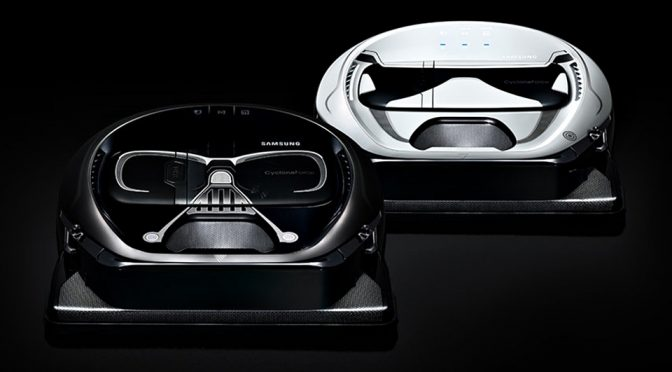 Samsung Adds 'The Force' To Vacuum With Star Wars Robot Vacuum