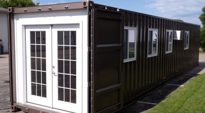 Shipping Container House by MODS International