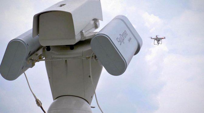 SkyDroner Anti-drone Surveillance System by TeleRadio