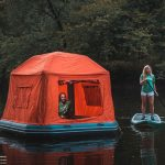 SmithFly Floating Tent Literally Makes Any Waterbody Into Your Waterbed