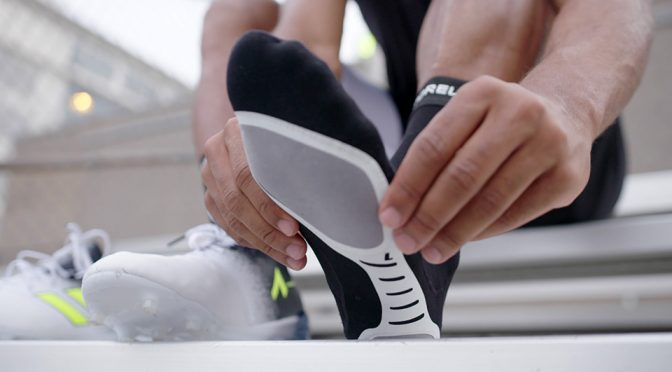 This Pair of High-Tech Socks Will Add Grips Between Your Feet And The Shoes