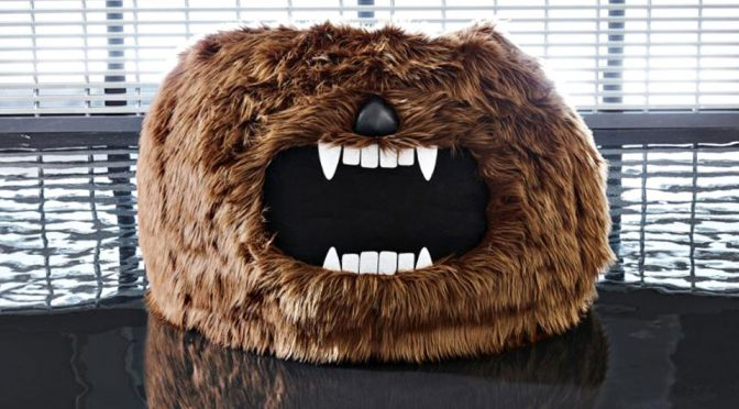 Chewbacca Bean Bag Because, It Is Cool As Hoth And So Why Not?