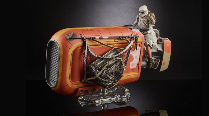 <em>Star Wars</em> The Black Series Rey's Speeder and Figure Is Now 30% Less On Amazon