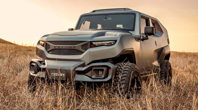 Rezvani TANK Is A Military-style, Off-Road Capable SUV For $178,000