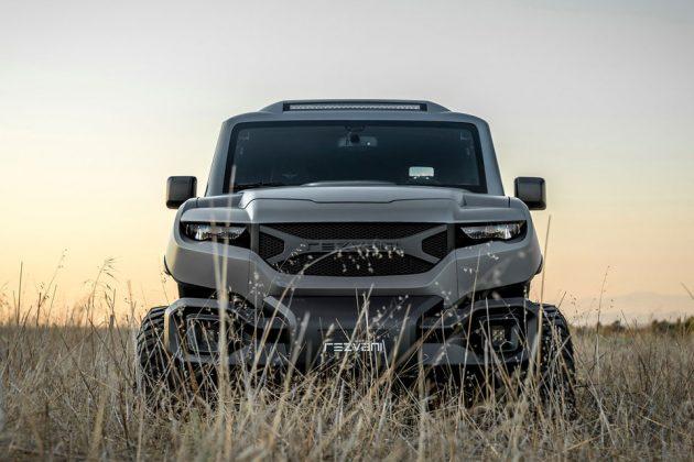 TANK Extreme Utility Vehicle by Rezvani Motors
