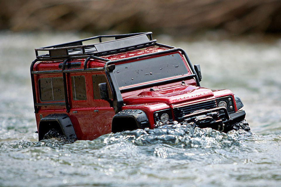 Cheap Used Cars >> TRAXXAS 1/10 R/C Land Rover Defender Because, Who Wouldn't ...