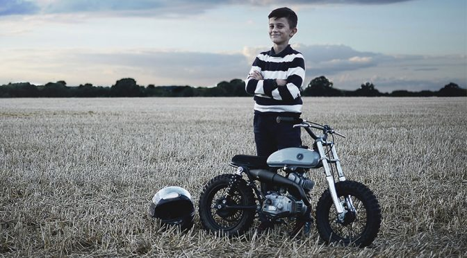 Mini Bikes Are Cute, But This Custom Mini Goes Beyond Cute; It Is Stylish