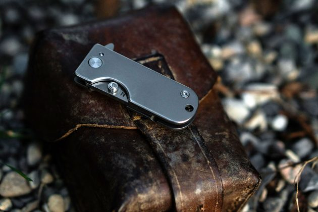 WESN Titanium Micro Blade EDC Pocket Knife Keychain