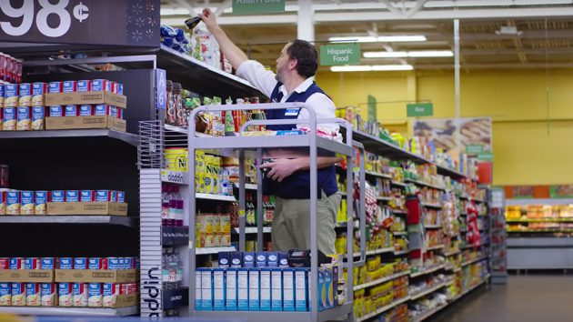 Walmart Shelf-scanning Robots by Bossa Nova Robotics
