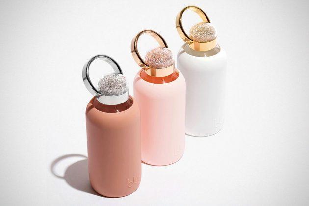 bkr 500 Collection Swarovski-embellished Water Bottles