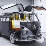 This Custom 67' VW Bus Is A Practical Tribute To The Doc Brown's DeLorean
