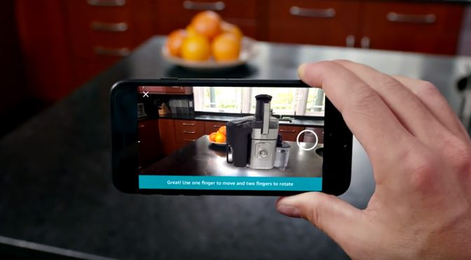 Amazon's Leverages On AR To Let You Virtually Place Products In Your Home