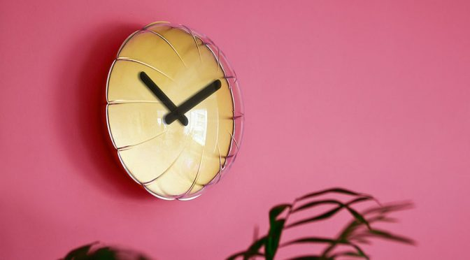 Design Studio Turns Playful Design Of Foil Balloons Into A Clock That Pops