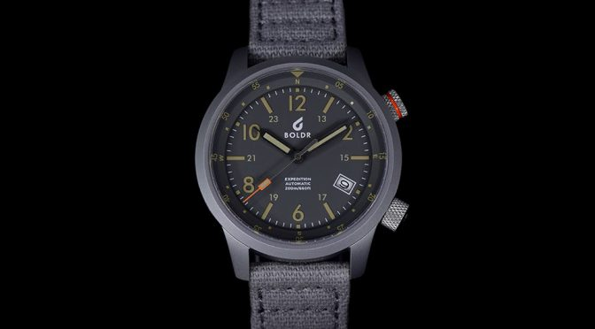 BOLDR Expedition Automatic Field Watch Is Both Bold And Beautiful
