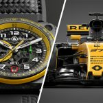 Stunning Bell & Ross's Renault F1 Team Timepiece Sold For $35K At Only Watch