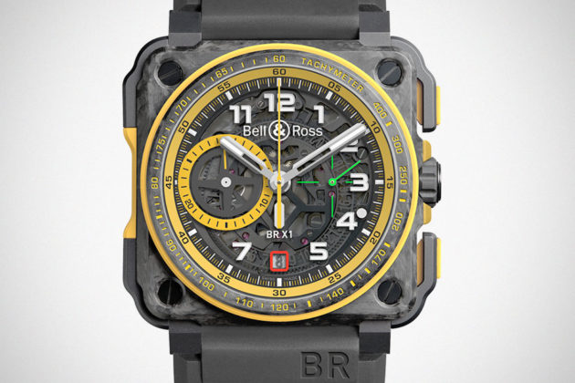 Bell & Ross x Renault Sport Formula One BR-X1 RS17 Watch